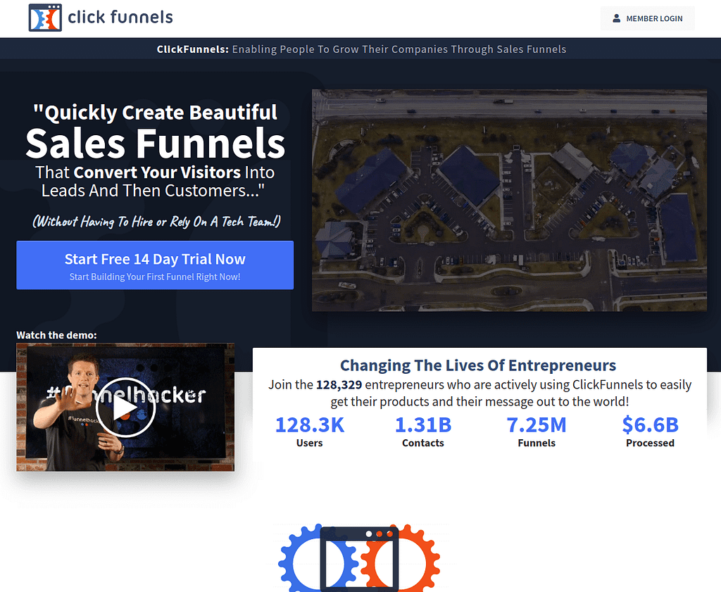 Start Free 14 Day Trial Now - ClickFunnels​