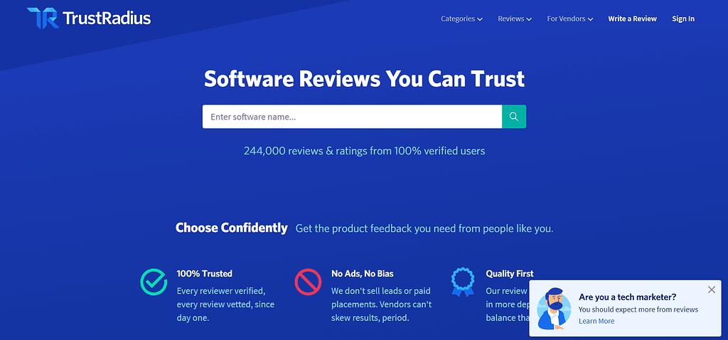 clickfunnels review trustradius.com
