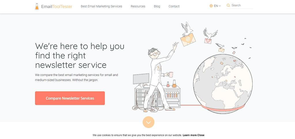 getresponse review emailtooltester.com