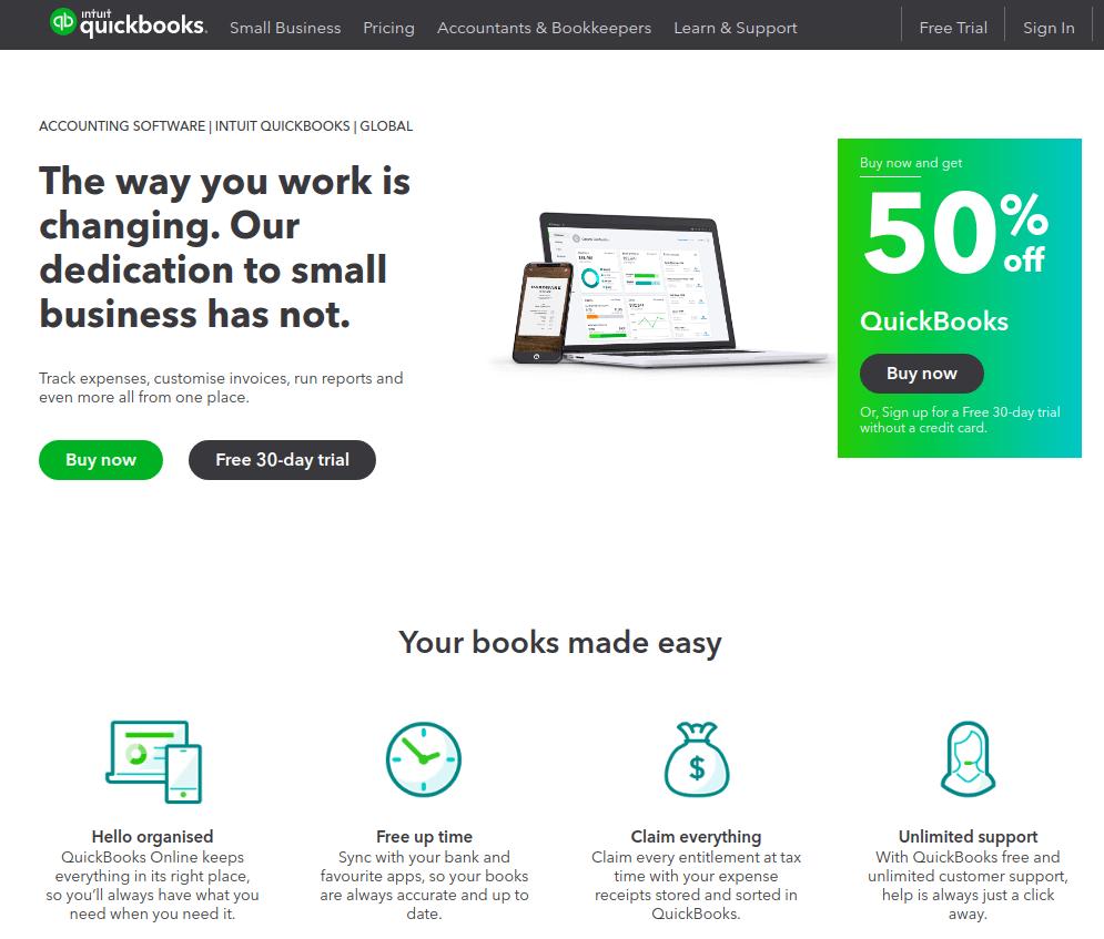 Buy Now - Quickbooks