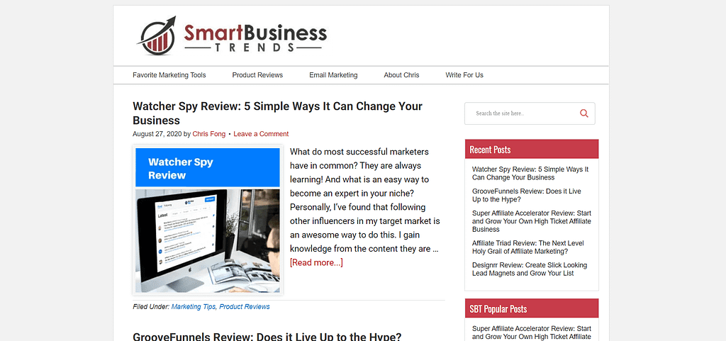 Clickfunnels Review smartbusinesstrends.com