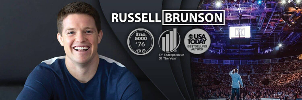 The Author Who is Russell Brunson