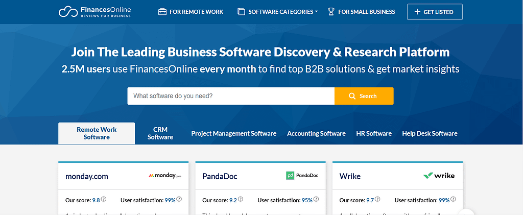 getresponse review financesonline.com
