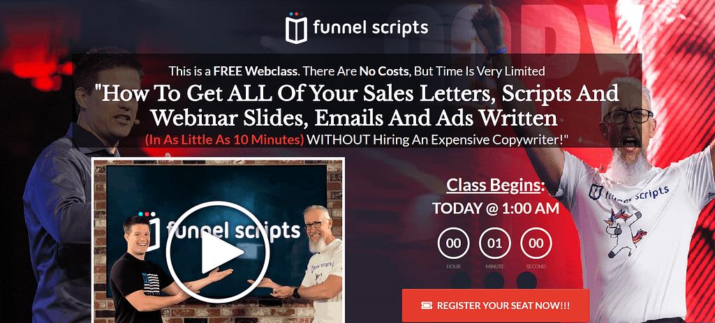 funnelscript Tools tips copywriting