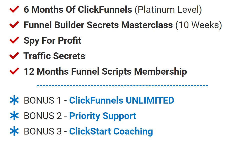 Funnel Builder Secret Offer Stack